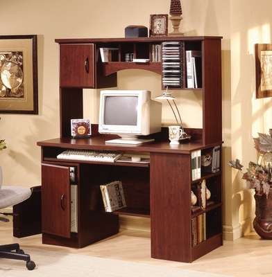 Computer Center in Traditional Cherry - South Shore Furniture - 4606782