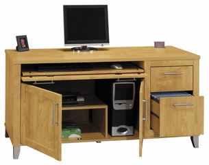 "Computer Credenza 60"" - Somerset Collection - Bush Office Furniture - WC81429-03"