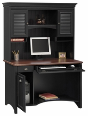 Computer Desk and Hutch - Bush Office Furniture - OFFPKG-39