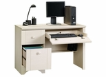 Computer Desk Antiqued White - Sauder Furniture - 401685 Harbor View