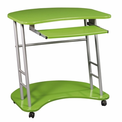 Computer Desk in Apple Green - Office Star - KK206R