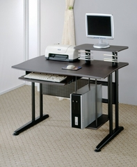 Computer Desk in Black / Metal - Coaster