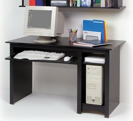 Computer Desk in Black - Sonoma Collection - Prepac Furniture - BDD-2948