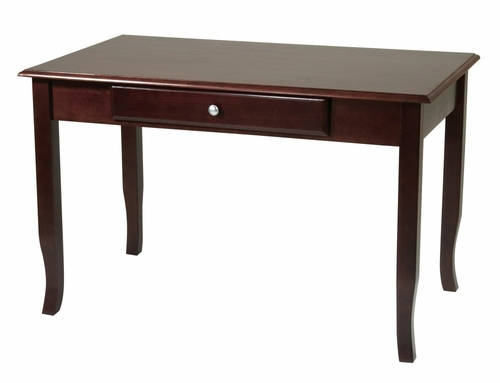 Computer Desk in Merlot - Office Star - ME25