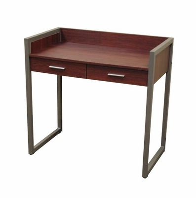 Computer Desk with 2 Drawers in Medium Cherry - Barker Collection - RiverRidge - 05-010