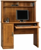Computer Desk with Hutch Abbey Oak - Sauder Furniture - 404961 Harvest Mill