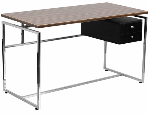 Computer Desk with Two Drawer Pedestal - NAN-JN-2120-GG