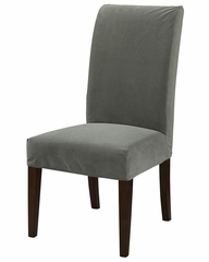 "Concrete Grey Velvet ""Slip Over"" (Fits 741-440 Chair) - Powell Furniture - 741-261Z"