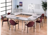 Conference Table Set 12 - Aspen Collection - Bush Office Furniture - TS852-SET-12