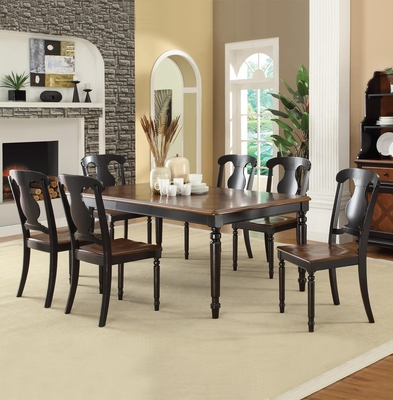 Connor Two Tone 7 Piece Dining Set - 104191