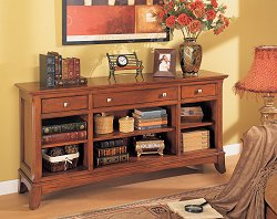 Console Bookcase - Executive Office Furniture / Home Office Furniture - 1278-06
