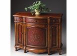 Console Cabinet in Cherry and Red - Butler Furniture - BT-1684176