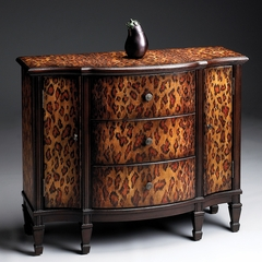 Console Cabinet in Leopard Spots - Butler Furniture - BT-0674182