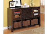 Console Table in Rich Tobacco - Coaster