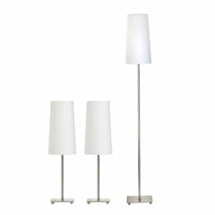 Contemporary 3pc Lamp Set - 901418