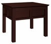 Contemporary Asian End Table in Wenge - FT26AC