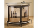Contemporary Bar Unit with Smoked Acrylic Front - 101065
