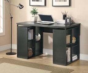 Contemporary Black Desk - 800425