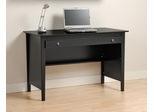 Contemporary Computer Desk in Black - Prepac Furniture - BWD-4730