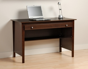 Contemporary Computer Desk in Espresso - Prepac Furniture - EWD-4730