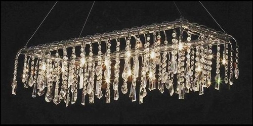 Contemporary Crystal Chandelier - UR3015