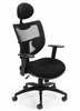 Contemporary Executive Mesh Ventilated Chair with Headrest - OFM - 580-BLACK