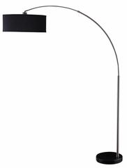 Contemporary Hanging Floor Lamp in Black - 901486