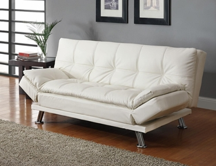 Contemporary Styled Futon Sleeper Sofa - 300291