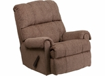 Contemporary Tahoe Bark Chenille Rocker Recliner - WM-8700-210-GG
