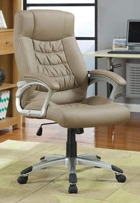 Contemporary Upholstered Executive Chair - 800205