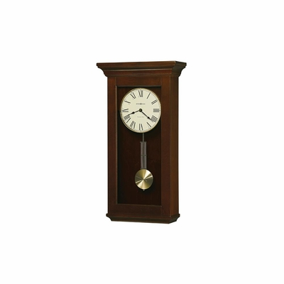 Continental Cherry Bordeaux Wall Clock - Howard Miller