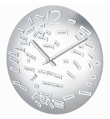 Convex Love Poem Clock - 1122-LOVE