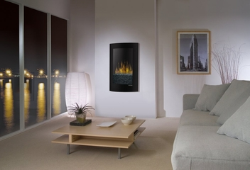 Convex Wall Mount Electric Fireplace - Dimplex - VCX1525