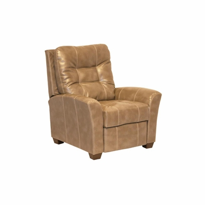 Cooper Peanut Leather Recliner - Catnapper