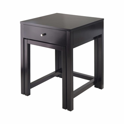 Copenhagen 2-Pc Nesting Table Set - Winsome Trading - 92202