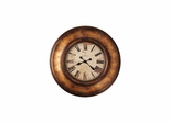 Copper Bay Oversized Gallery Wall Clock - Howard Miller