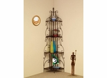 Copper Corner Rack with 4 Shelves - 910038