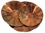 Copper-Plated Scalloped Bowls (Set of 3) - IMAX - 60005-3