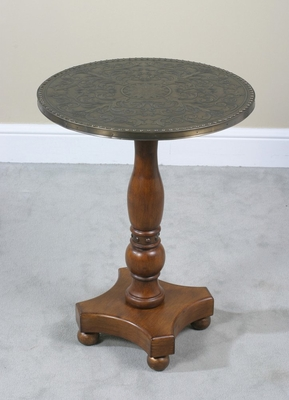 Copper Top End Table - Drummond - Ultimate Accents - 21477ET