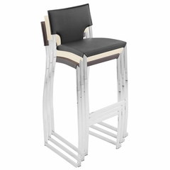 Coppola Barstool Black (Set of 2) - LumiSource - BS-JMB-COP-BK2
