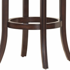 Cordova Swivel Counter Stool in Dark Brown Cherry - Hillsdale Furniture - 4282-825