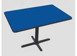 "Corell Breakroom Table -30"" x 48"" x 29"" with Cross Base/Column -BCT3048"