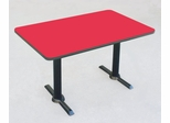 "Corell Breakroom Table -30"" x 48"" x 29"" with T Bases/Columns -BTT3048"
