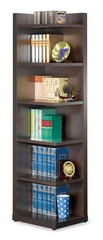 Corner Bookcase with Open Side - 800270