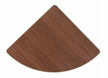 Corner Connector - Series A Walnut Collection - Bush Office Furniture - WC25529
