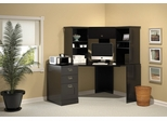 Corner Desk, Hutch and Pedestal Set - Stockport - Bush Office Furntiure - MY6290123-03