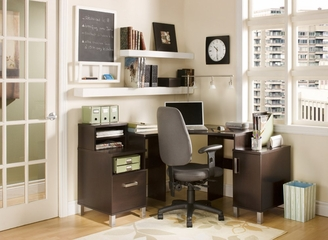 Corner Desk in Chocolate - South Shore Furniture - 7219780