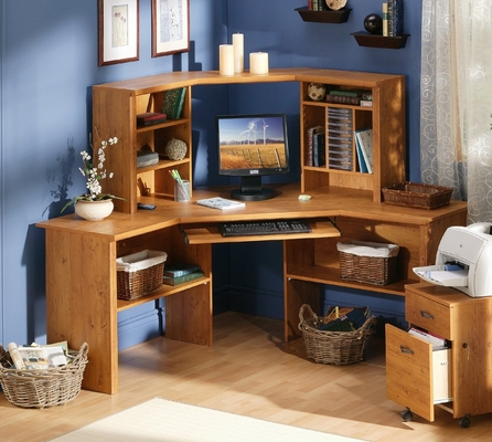 Corner Desk in Country Pine - South Shore Furniture - 7232780