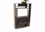 Corner Entertainment Center in Espresso - 4D Concepts - 07349