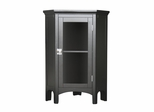 Corner Floor Cabinet in Dark Espresso - Madison Avenue - 7640